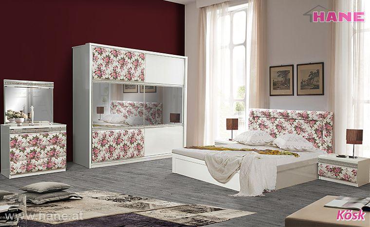 Kösk Schlafzimmer Blumen | Stilev - Möbel Online Kaufen